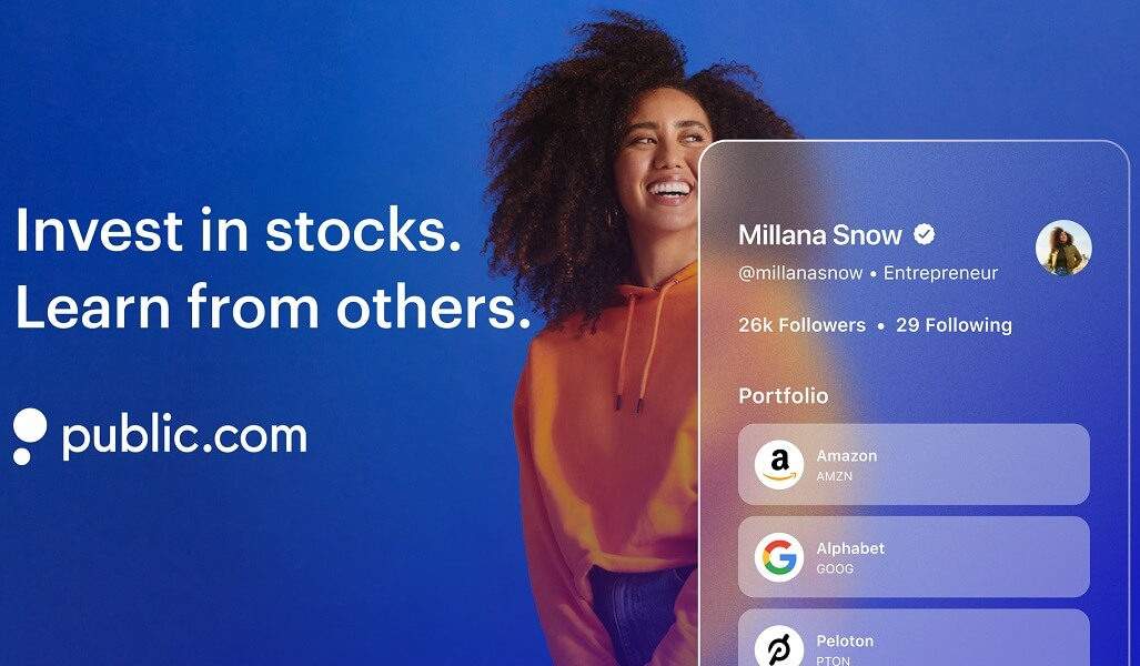 Public free stock offer hero image