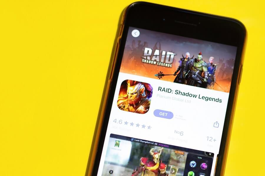Raid Shadow Legends game hero image