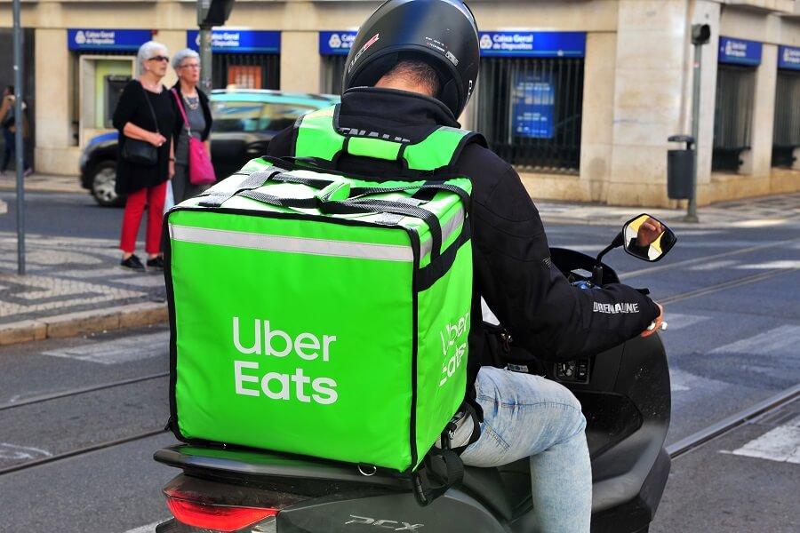Uber Eats delivery hero image
