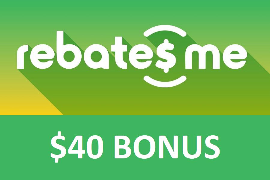 RebatesMe Signup Bonus hero image