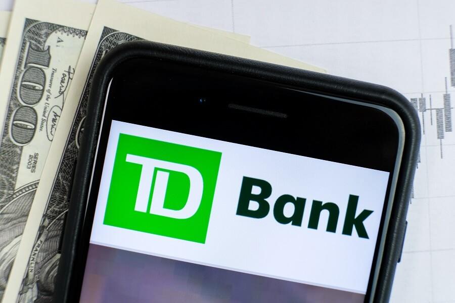 TD Bank Checking Account Bonus hero image